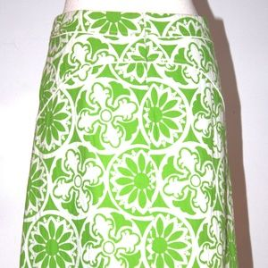 LILLY PULITZER COTTON SKIRT SIZE 4